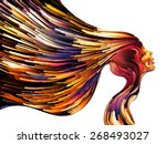 colors of imagination series.... | Shutterstock . vector #268493027