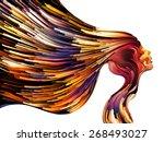 colors of imagination series.... | Shutterstock . vector #268493027