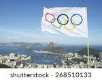 rio de janeiro  brazil   march...   Shutterstock . vector #268510133