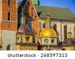 Beautiful  Domes Of The Wawel...