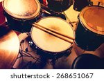 Small photo of Drums conceptual image