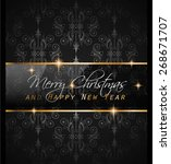 2016 new year and happy... | Shutterstock .eps vector #268671707