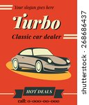 car dealer illustration | Shutterstock .eps vector #268686437