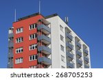 apartment house | Shutterstock . vector #268705253