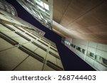 high buildings of barbican in... | Shutterstock . vector #268744403