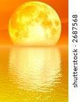 golden moon | Shutterstock . vector #2687568