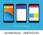 material design | Shutterstock .eps vector #268762133