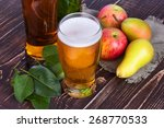 Apple And Pear Cider Glass And...