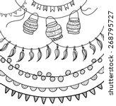 Hand Drawn Vector Garlands ...