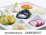 pickles  japanese food | Shutterstock . vector #268838537