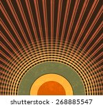 retro background   abstract... | Shutterstock .eps vector #268885547