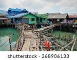 Fishing Village On Stilts Of...