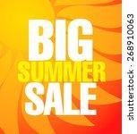 summer sale poster | Shutterstock .eps vector #268910063