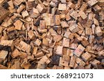 Raw Cork Pieces