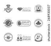 precious jewels premium quality ... | Shutterstock .eps vector #268930037