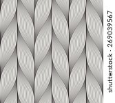 seamless pattern with abstract... | Shutterstock .eps vector #269039567