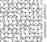 seamless vintage geometric... | Shutterstock .eps vector #269045117