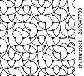 seamless vintage geometric... | Shutterstock . vector #269047733