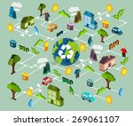 environmental protection ... | Shutterstock .eps vector #269061107