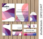 creative colorful corporate... | Shutterstock .eps vector #269111447