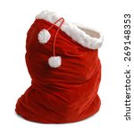Red Velvet Santa Bag Open...