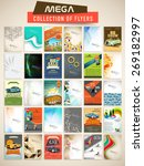 mega collection of stylish... | Shutterstock .eps vector #269182997