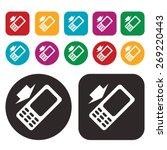 phone icon. vector illustration