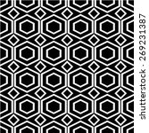 repeating geometric background... | Shutterstock .eps vector #269231387