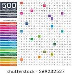 500 doodle icons. sketch... | Shutterstock .eps vector #269232527