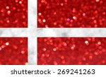 the national flag of denmark...   Shutterstock . vector #269241263