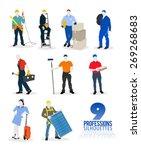 digitally generated nine... | Shutterstock .eps vector #269268683