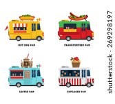 Street Food Van. Fast Food...