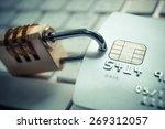 credit card data security | Shutterstock . vector #269312057