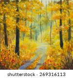 Original Oil Painting Sunny...