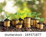 accounts  bank account  banking. | Shutterstock . vector #269371877