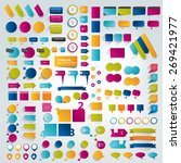 big collections of infographics ... | Shutterstock .eps vector #269421977