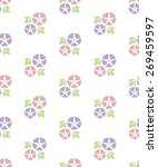 seamless pattern of colorful... | Shutterstock .eps vector #269459597