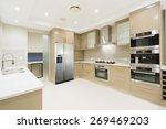 modern kitchen with stainless... | Shutterstock . vector #269469203