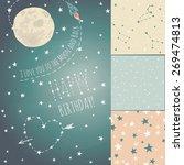 a set of seamless... | Shutterstock .eps vector #269474813