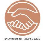 handshake | Shutterstock .eps vector #269521337