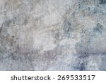 aged grunge abstract concrete... | Shutterstock . vector #269533517