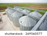 silo structures | Shutterstock . vector #269560577