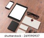 template business for branding. ... | Shutterstock . vector #269590937