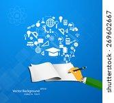 vector illustration of the... | Shutterstock .eps vector #269602667