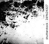vector black and white grunge...   Shutterstock .eps vector #269624327