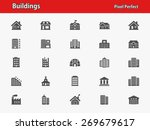 Buildings Icons. Professional ...