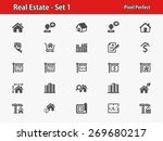 real estate icons. professional ... | Shutterstock .eps vector #269680217