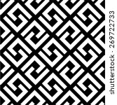 diagonal geometric pattern ... | Shutterstock .eps vector #269722733