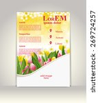 flyer  brochure or magazine... | Shutterstock .eps vector #269724257