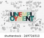 business concept  painted... | Shutterstock . vector #269726513